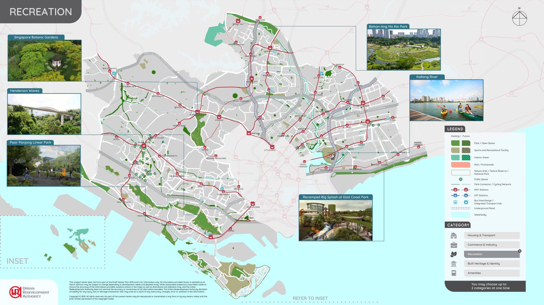 DMP19 Central Region Illustrated Plans