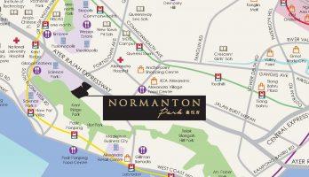 Normantan Park Showflat