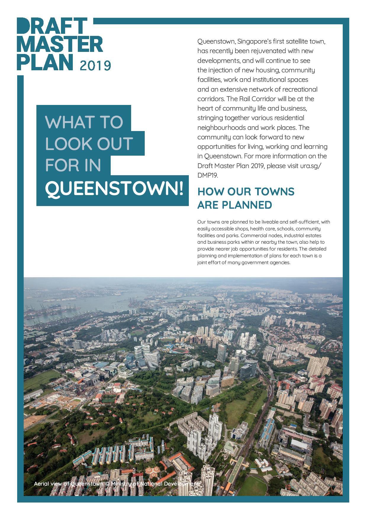 URA Master Plan - Queenstown 6